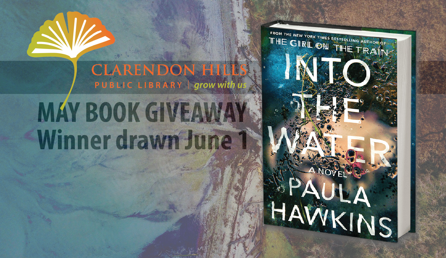 Book of the Month Giveaway: Into The Water