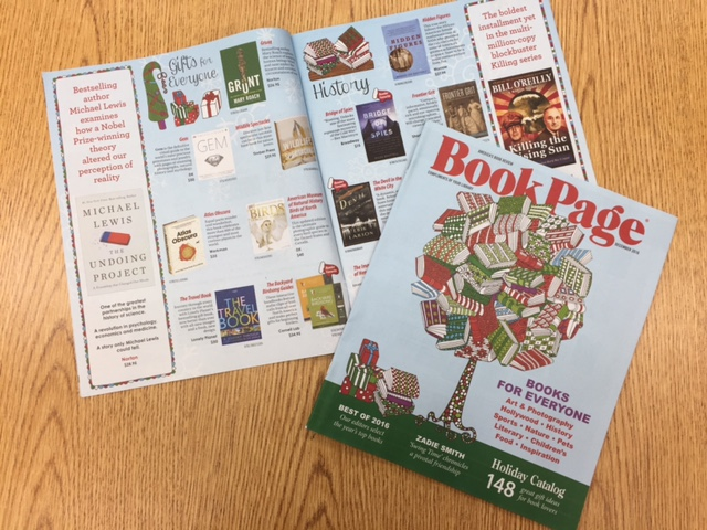 Book Page Holiday Gift Guide